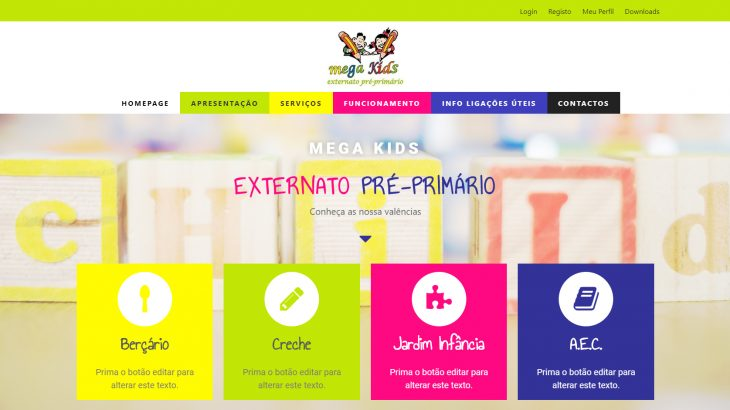 Website MegaKids